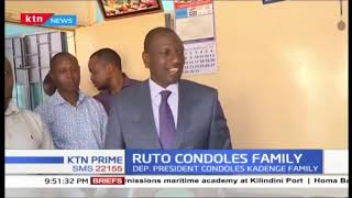 DP Ruto condoles Kadenge's family |SPORTS