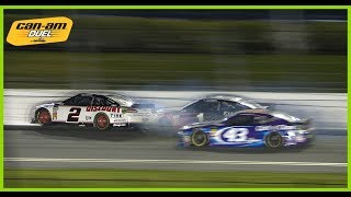 NASCAR - Daytona2018 Duel1 Keselowski Crash