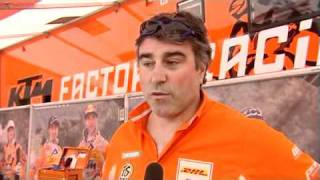 preview picture of video 'Fabio Farioli reaction to the 1st round of EWC'