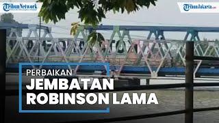 Rekayasa Lalu Lintas Diterapkan di Sekitar Jembatan Robinson Lama Tangerang yang Sedang Direnovasi