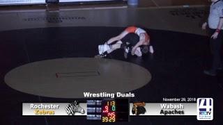 Rochester Varsity Wrestling vs Wabash