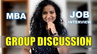 How to Prepare For Group Discussions | GD Topics with Answers | Job Interview | MBA
