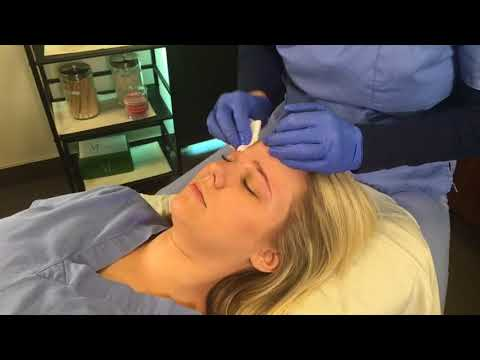 Eyebrow Shaping With Esthetician Anne Marie Johnson