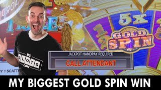 🔴 My BIGGEST GOLD SPIN WIN EVER on WHEEL OF FORTUNE!