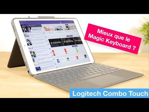 """Test du clavier+trackpad pour iPad """"Combo Touch"""" de Logitech : mieux que le Magic Keyboard d'Apple ?"""