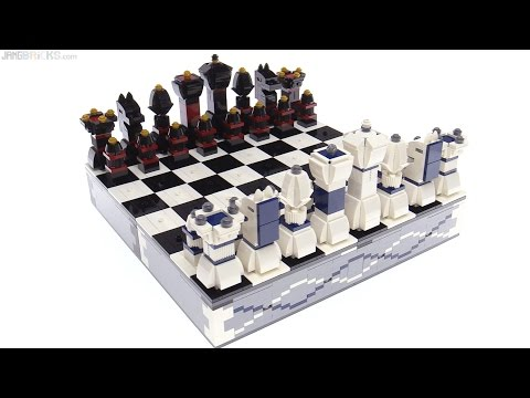 Lego Iconic Chess Set 40174 Review