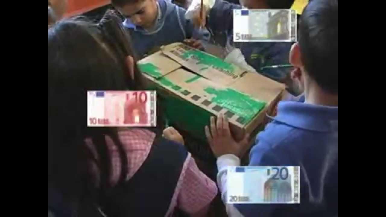 El cajero automático: una experiencia con niños