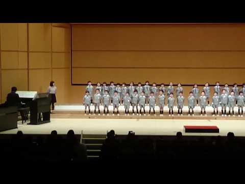 舞鶴市民合唱祭 ひばり幼稚園年中組