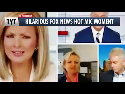 Fox Host Caught on Hot Mic Reacting To Trump Lies