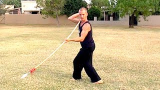 Kung Fu Weapon King!!! SPEAR Tutorial 3