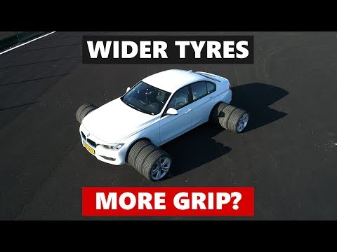 Do wider tyres give you more grip? The differences between tyre widths tested and explained.