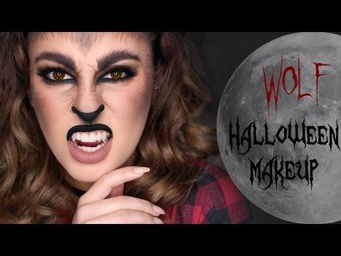 Wolf Halloween Makeup Tutorial