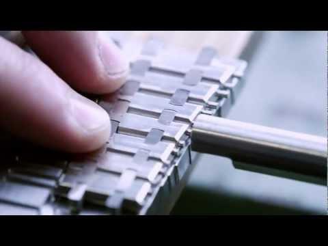 Making the Bracelet for a Royal Oak – Audemars Piguet