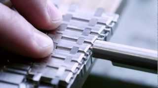 Making The Bracelet For A Royal Oak | Audemars Piguet