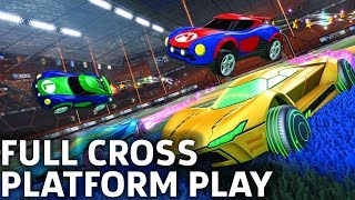 Rocket League Full Cross-Platform Play Available