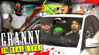 Granny Horror Game in Real Life *NEW UPDATE* GARAGE AND CAR!