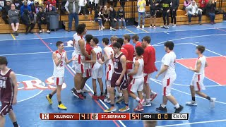 ECC Semifinal Highlights: St. Bernard 54, Killingly 41