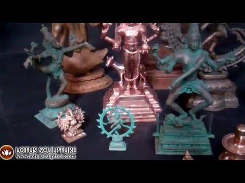 SOLD Bronze Shiva as Bhairava Statue with Dog 20