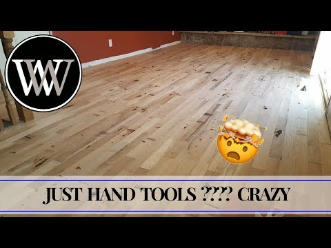 How To Install Solid Hardwood Flooring With Hand Tools – White Oak Floors Woodworking the Hard Way