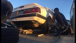 5.0 fox body crash check 1,2,1,
