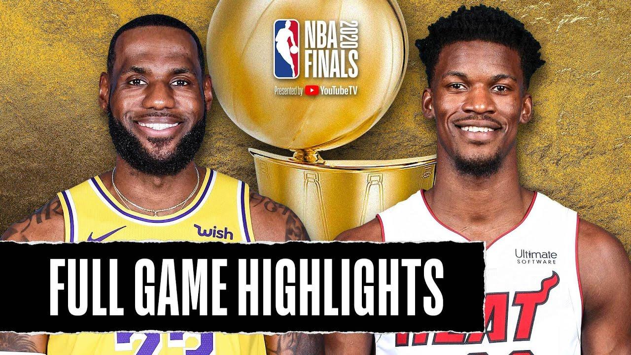 Game 4: Lakers vs Heat - NBA Finals | October 06, 2020