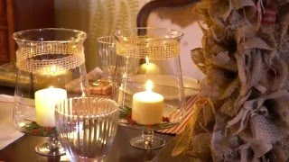 Katie Brown Shows You How to DIY an Elegant Holiday Tablescape with a Rustic Twist