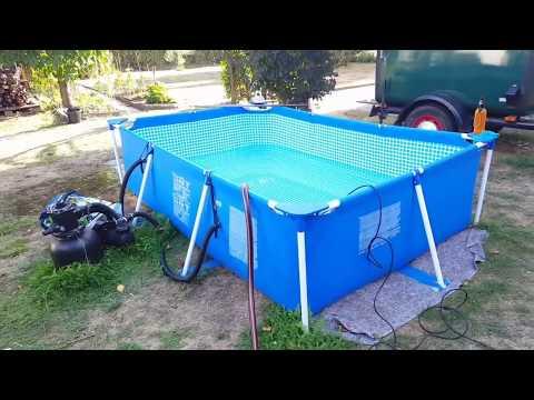 ★ Intex Frame Pool, Abbau und Fazit ↓Einkaufliste↓ ★