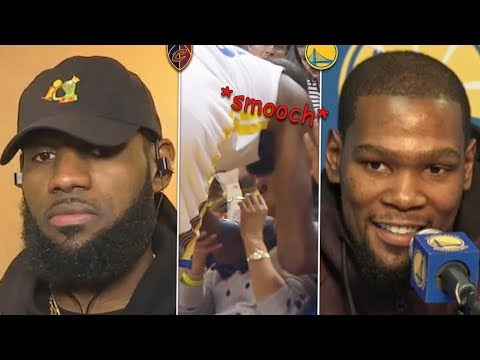 LeBron Has A Strong Statement Regarding Lonzo, KD Explains Himself After Kissing 💋 A Fan Courtside