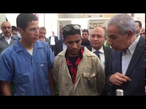 زيارة المهندس/طارق قابيل وزير التجارة والصناعة لمحافظة المنيا