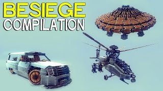 ►Besiege Compilation - The Most Popular Creations