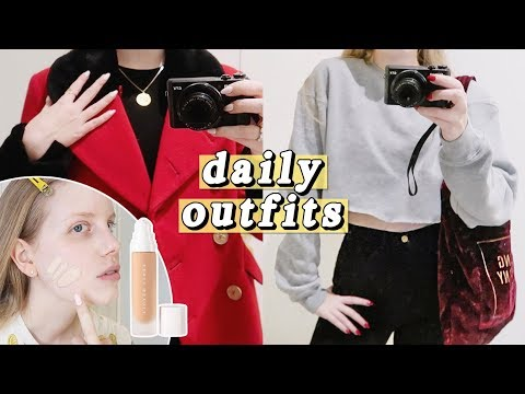 Daily Outfits & Fenty Foundation Review