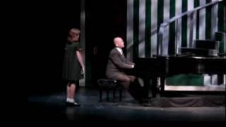 """""""SOMETHING WAS MISSING"""" - ANNIE  - Roger Lentz ( Daddy Warbucks), Reiley Lonergan ( Annie)"""