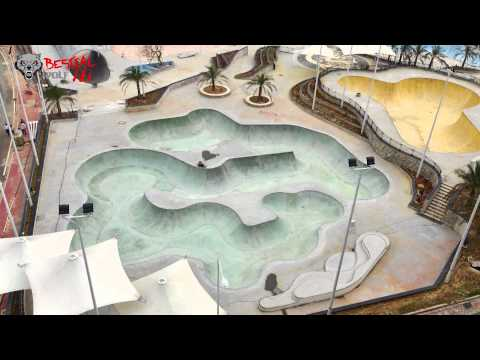 The biggest GMP Skate Park in the World in Guangzhou ( China )