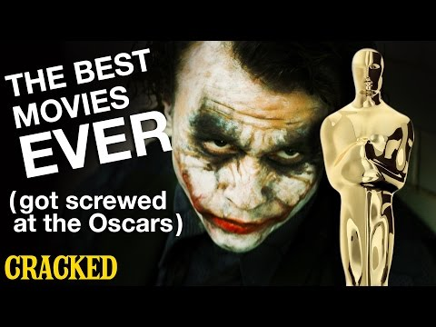 The Best Movies Ever (Got Screwed at the Oscars) - Today's Topic