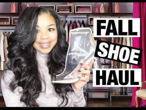 Fall Shoe Haul | Tall Boots, Heels, & Flats