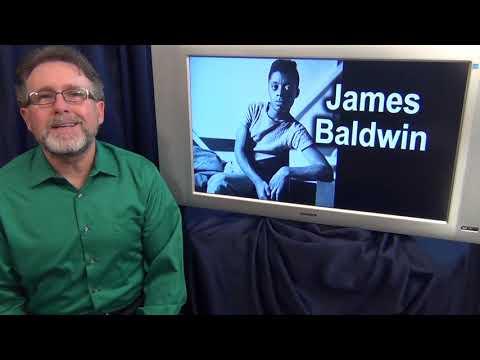 James Baldwin, author and activist