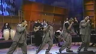 All 4 One on Jay Leno 96