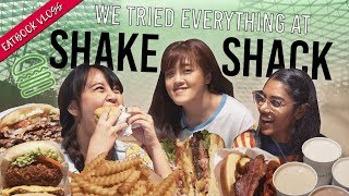 WE TRIED EVERYTHING AT SHAKE SHACK + CHECKING OUT JEWEL CHANGI AIRPORT | Eatbook Vlogs | EP 97