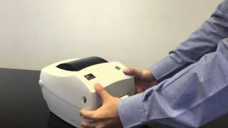 Zebra GC420t Barcode Printer เครื่องพิมพ์บาร์โค้ด ซีบร้า