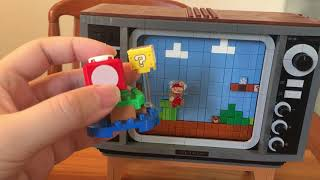 I built the LEGO Nintendo Entertainment System