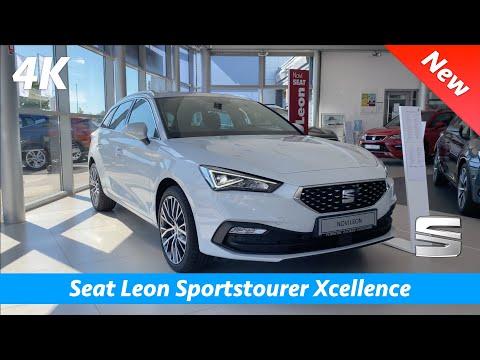 Seat Leon Sportstourer Xcellence 2020 - Quick look in 4K | Interior - Exterior