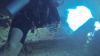preview picture of video 'Scuba Diving - Troop Ship, Saipan'