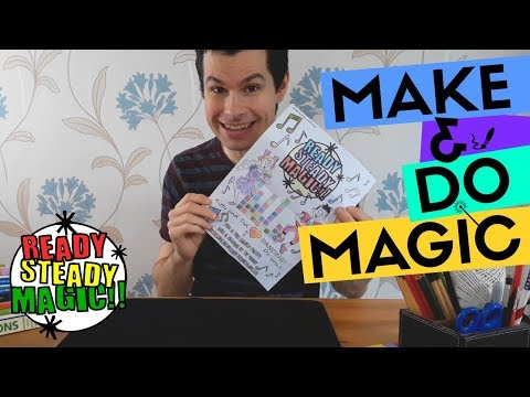 Colouring In Magic | Make & Do Magic | Ready Steady Magic