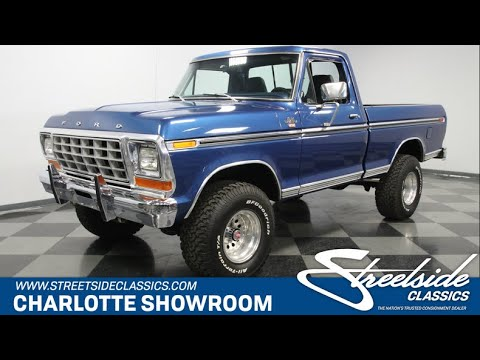 Video of 1979 Ford F150 - $33,995.00 Offered by Streetside Classics - Charlotte - PW7U