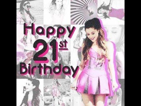 Поздравления с днем рождения 21 год девушке, подруге
