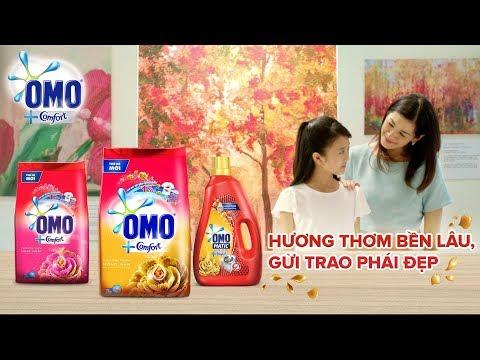 Omo Comfort - Hương thơm sang trọng bền lâu