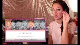 Gambar cover Vocal Coach REACTS BTS- ANSWER- LOVE MYSELF
