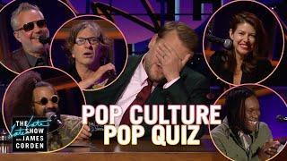 Pop Culture Pop Quiz