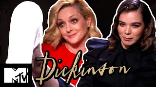 Hailee Steinfeld & Jane Krakowski Play Ladette Or Lady?   Dickinson   MTV Movies