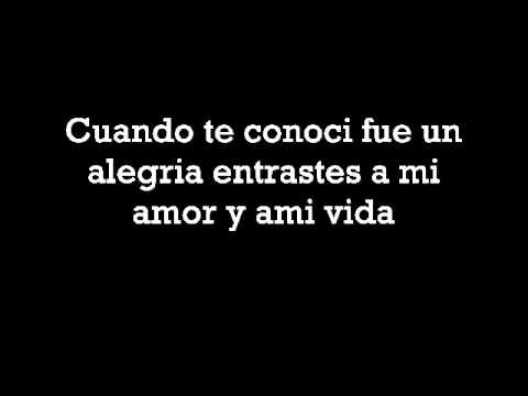 Bamby Ds ~ Conoci el amor (Letra).